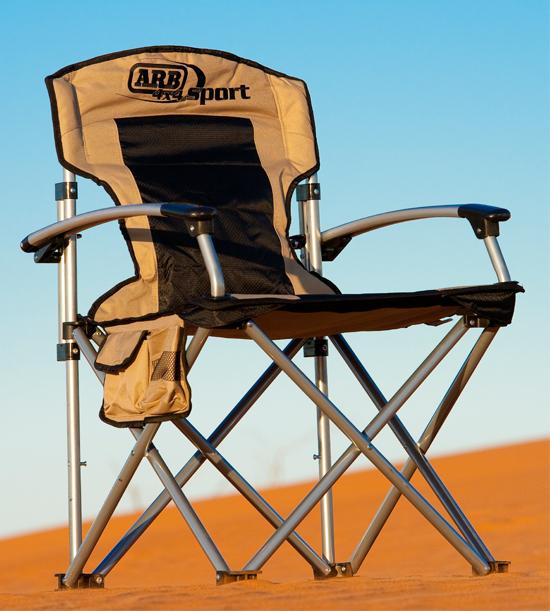 ARB hliníková skladacia stolička