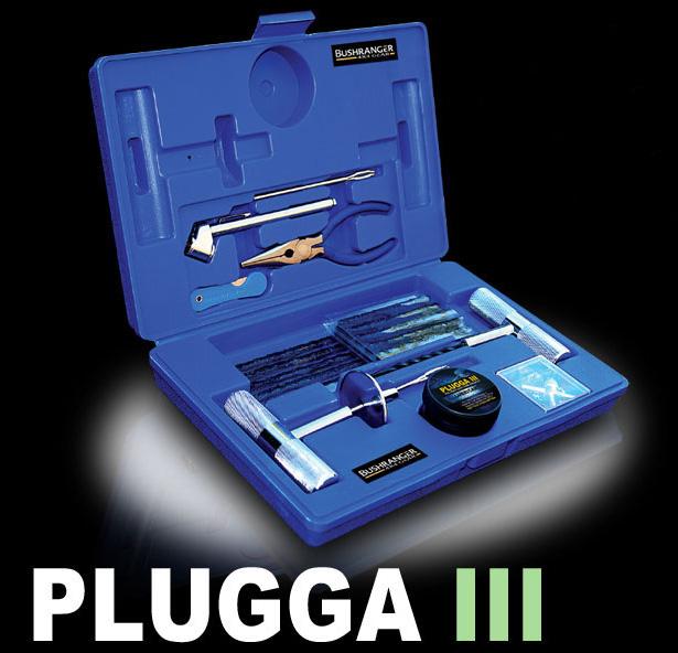 BUSHRANGER PLUGGA III opravná sada pneumatík