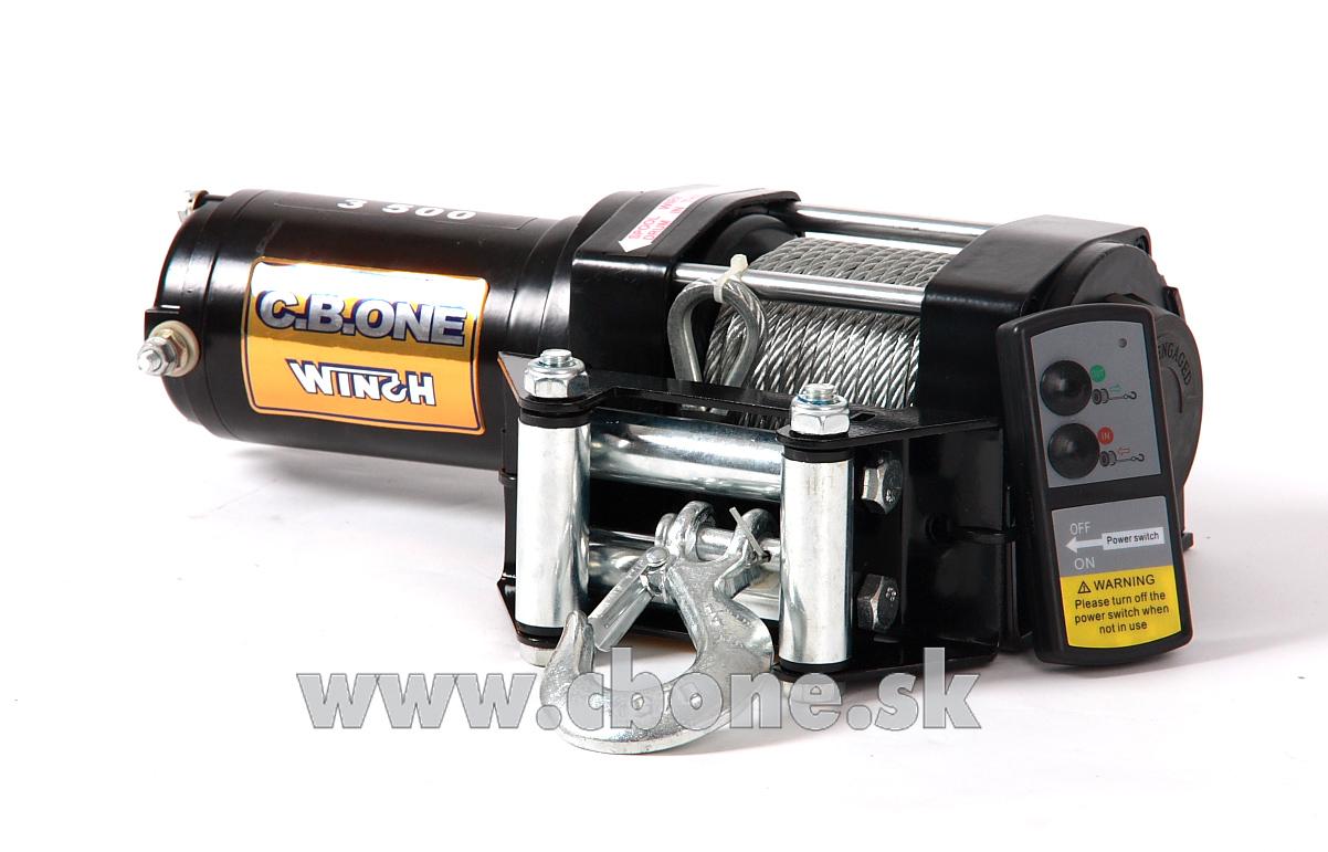 Navijak CBONE WINCH Basic ATV 3500 12V