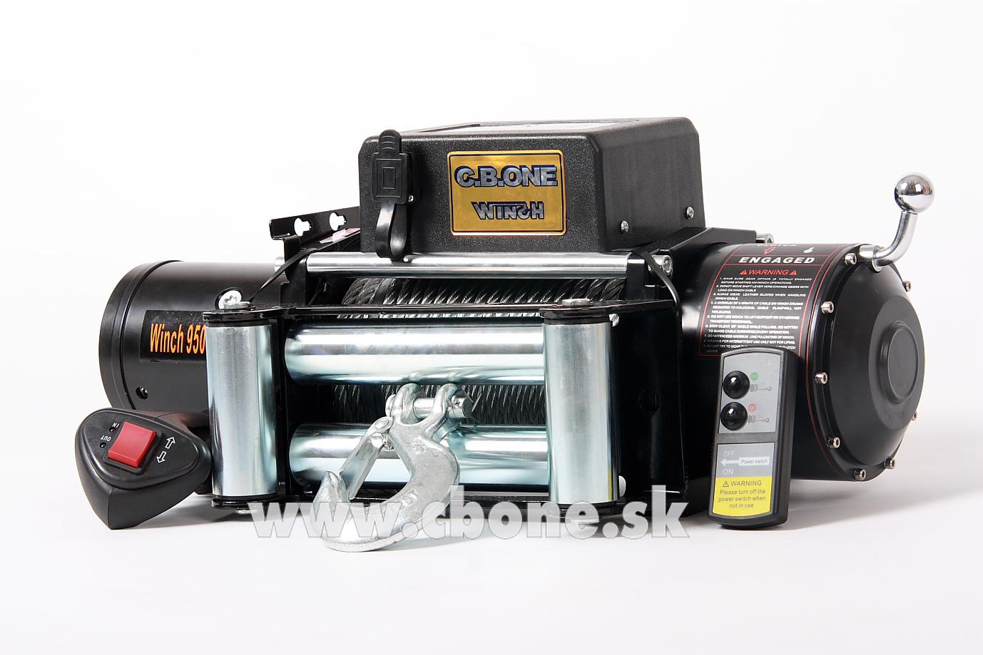 Navijak CBONE WINCH Basic 9500 12V