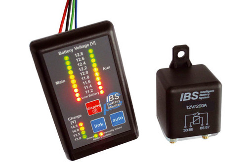 Duálny batériový systém IBS-DBS, 24V