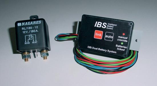 Duálny batériový systém DBI-DBS, 12-Volt