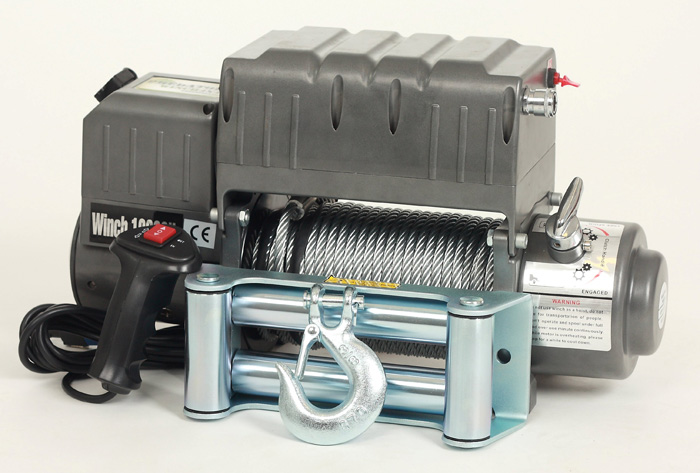 Navijak PREDATOR4x4 WINCH 12000 s kompresorom 12V