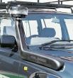 Safari šnorchle - zvýšené sanie motora