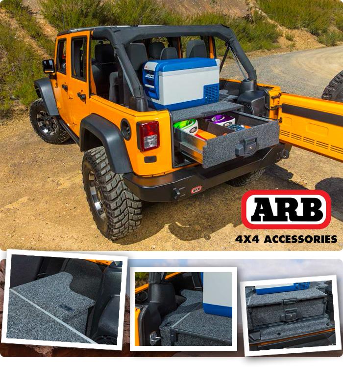 ARB zásuvkový systém pre JK Wrangler 4 dverový