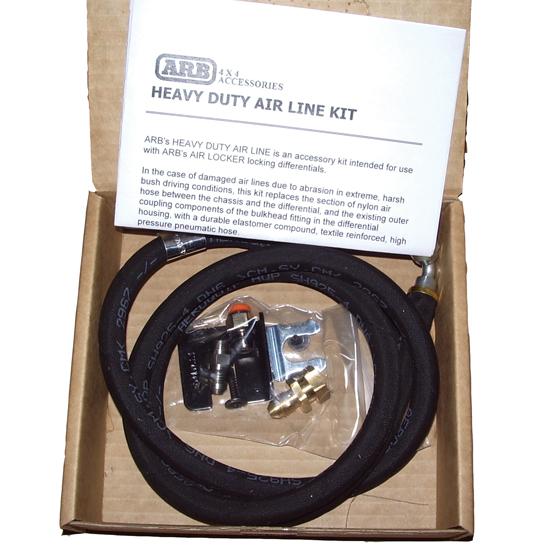 HDAL - zosilené vedenie vzduchu k ARB uzávierke