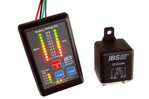 Duálny batériový systém IBS-DBS, 12V