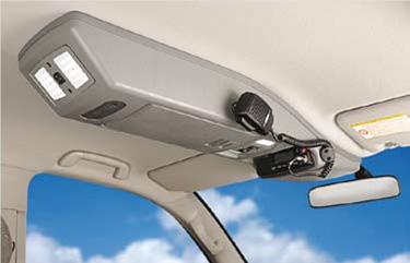 Stropná konzola - ISUZU D-Max do 2012 Double cab